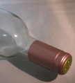Shrink Wrap Wine Bottle Toppers/30- Dusty Rose