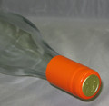Shrink Wrap Wine Bottle Toppers/30- Orange