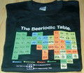 Beeriodic Table Neon on Black Tee - Small