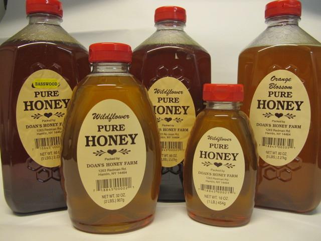 Clover Honey, 1 pound