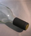 Shrink Wrap Wine Bottle Toppers/100- Black