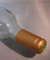 Shrink Wrap Wine Bottle Toppers/100- Bronze