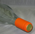 Shrink Wrap Wine Bottle Toppers/100- Orange