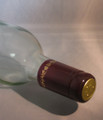 Shrink Wrap Wine Bottle Toppers/100- Burgundy w/ Gold