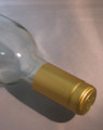 Shrink Wrap Wine Bottle Toppers/100- Gold