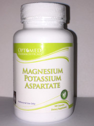 Magnesium Potassium Aspartate~ 100 Capsules Dietary Supplement Professional Use Only