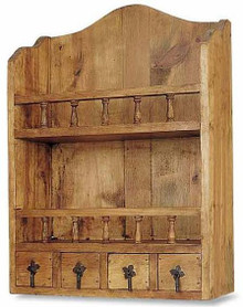 4 Drawer Wall Cupboard 40% OFF * 2 LEFT IN STOCK
