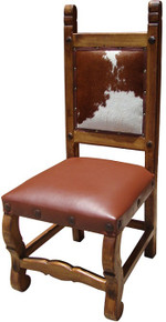 Hacienda Chair w/ Cowhide