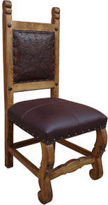 Hacienda Chair w/ Tooled Leather
