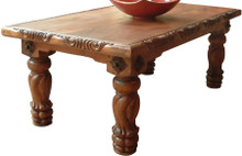 Mesquite Carved Torneada Dining Table