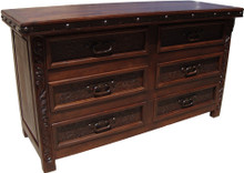 Medallon Six Drawer Dresser
