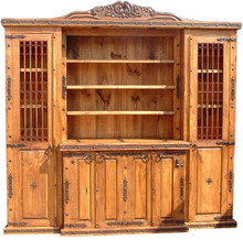 Carved Entertainment Bookcase
