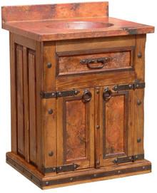 Merida Full Copper Top Sink Cabinet