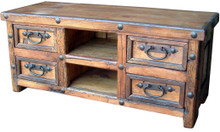 Hacienda 4 Drawer TV Stand
