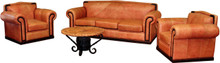 Hacienda Sofa & 2 Sofa Chairs 3pc Set