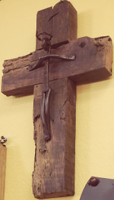 Reclaimed Wood Medium Cross