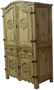 Rope & Star 55'' Armoire