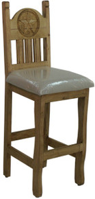 Rancho Star Counter Stool w/ Cushion
