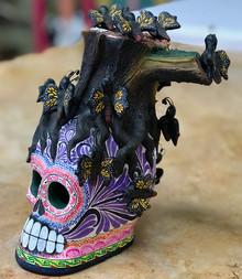Montesino: Monarca Butterfly Skull
