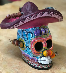 Montesinos: Mariachi Skull w/ Insects