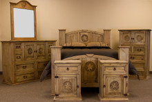 Mansion Star 6pc Queen Bedroom Set