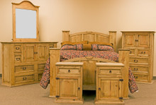 Mansion Queen 6pc Bedroom Set
