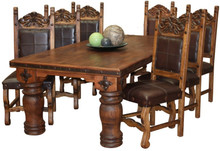 Hacienda 96'' 9pc Dining Set