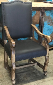 Las Piedras Leather Arm Chair
