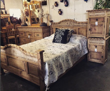 Rope Queen 5pc Bedroom Set w/ Stone Star - HF