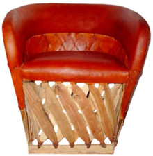Equipal Cancun Tequila Cushioned Chair