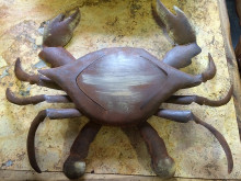 Metal Wall Crab - Medium