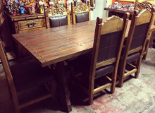Yugo 84'' 7pc Dining Set