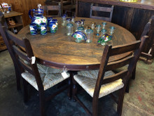 La Villa Round 7pc Dining Set