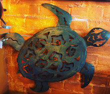 Metal Wall Turtle