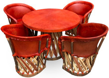 Equipal Traditional 5pc Dining Set