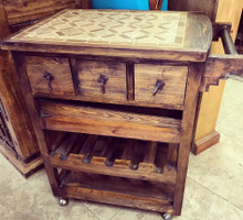 Stone Top Service Cart - DR