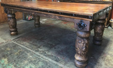 Carved Torno 84'' Dining Table