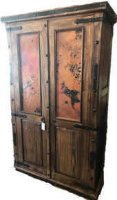 Finca Armoire w/ Copper