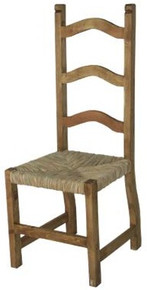 Ladderback Chair w/ Tule SALE 50% OFF * 2 LEFT IN STOCK