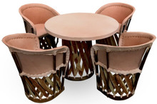 Equipal Natural 5pc Dining Set