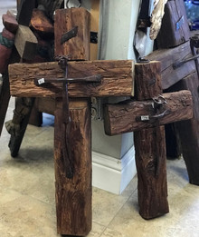 Reclaimed Wood 27'' Cross