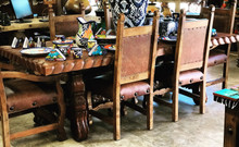 Mesquite 96'' Carved 7pc Dining Set