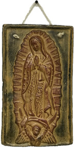 Virgen Hanging Plaque