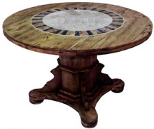 Ixtapa Stone Top Dining Table