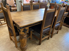 Hacienda 84'' 7pc Dining Set
