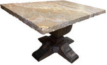 Andrade 53'' Onyx Top Dining Table