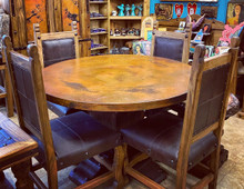 Andrade Copper Top 5pc Dining Set