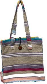 Button Top Pastel Falza Blanket Bag
