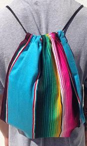 Sarape Pull String Back Pack