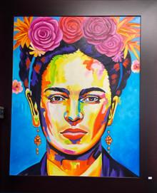 Frida Self Portrait - Oil on Canvas